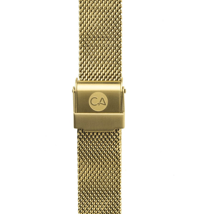 California Watch Co. 14mm Mesh Gold