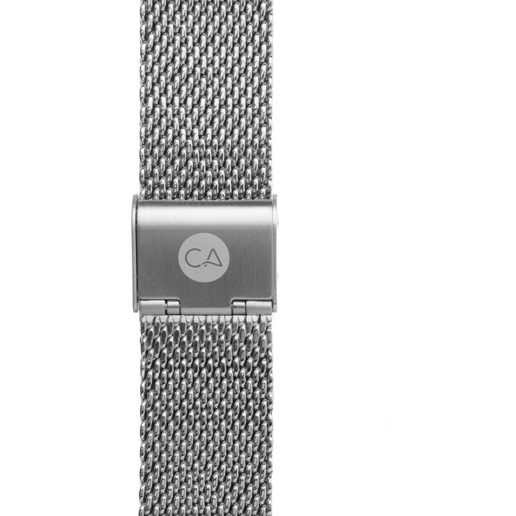 California Watch Co. 22mm Mesh Silver
