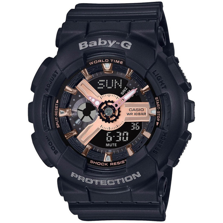 G-Shock Baby-G Rose Gold Black
