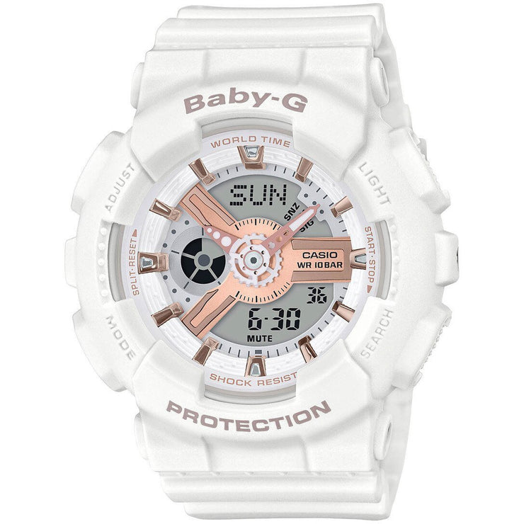 G-Shock Baby-G White Rose Gold