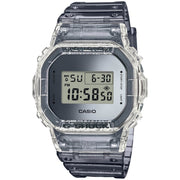 G-Shock DW5600 Skeleton Classic Clear Grey
