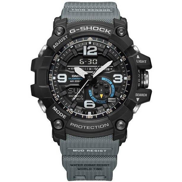 G-Shock GG1000-1A8 Mudmaster Black Gray