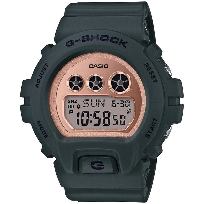 G-Shock GMDS6900 Grey Rose Gold angled shot picture