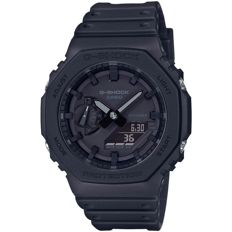 G-Shock GA2100 G-Carbon Ana-Digi Blackout
