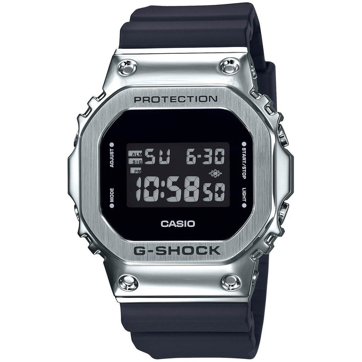 G-Shock GM5600 Standard Digital Silver Black