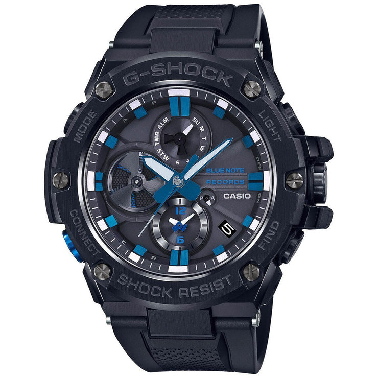 G-Shock G-Steel Connected Blue Note 80th Anniversary Black Blue