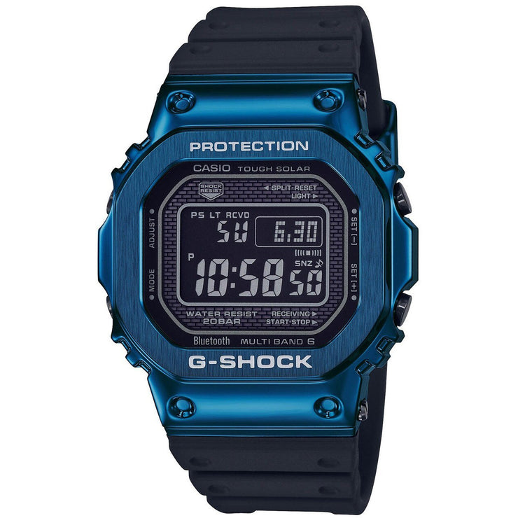 G-Shock GMWB5000 Standard Digital Black Blue