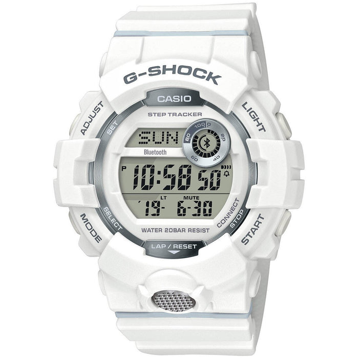 G-Shock GBD800 Bluetooth Activity Tracker White angled shot picture