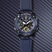 G-Shock GA2000 Carbon Core Ana-Digi Navy Gold