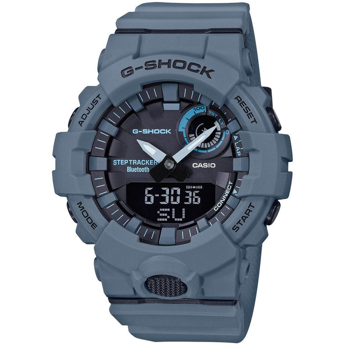 G-Shock GBA800UC G-Squad Ana-Digi Connected Gray angled shot picture