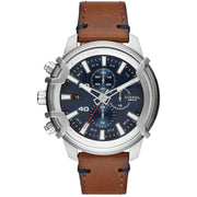 Diesel DZ4518 Griffed Chronograph Brown Blue