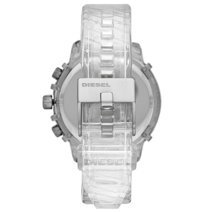 Diesel DZ4521 Griffed Chronograph Clear Iridescent White