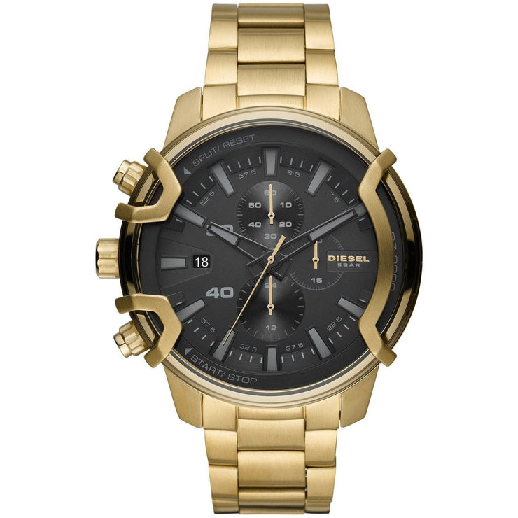 Diesel DZ4522 Griffed Chronograph Gold Black SS