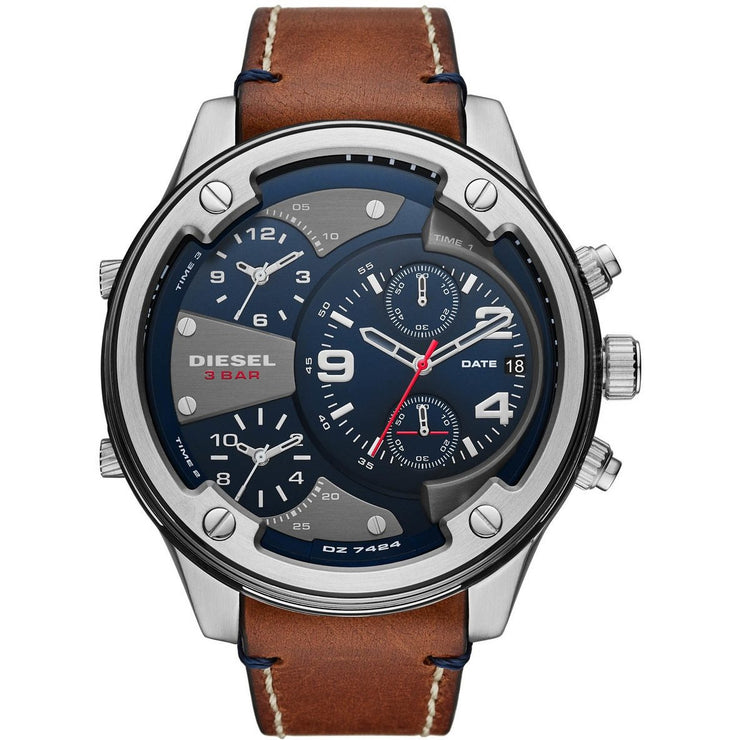 Diesel DZ7424 Boltdown Chronograph Blue Brown