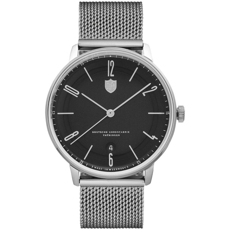 DuFa Bayer Swiss Automatic Silver Black