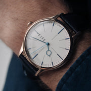 DuFa Weimar Moller Edition Rose Gold White