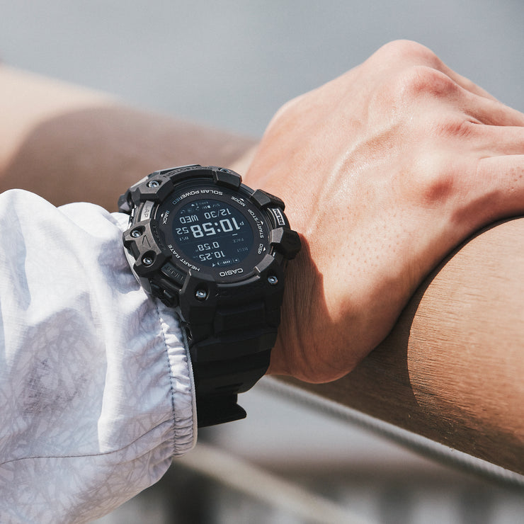 G-Shock GBDH1000 Heart-Rate Monitor Smartwatch All Black