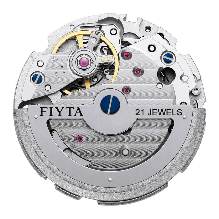 Fiyta Solo Automatic Blue Silver angled shot picture