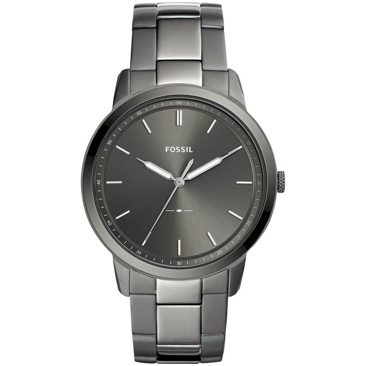 Fossil FS5459 The Minimalist Smoke Stainless Steel