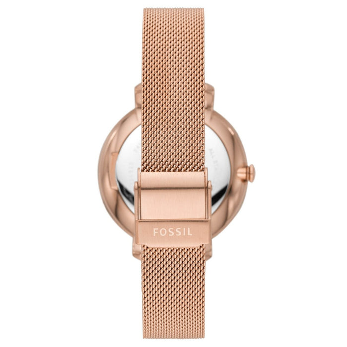 Fossil ES4628 Jacqueline Rose Gold angled shot picture