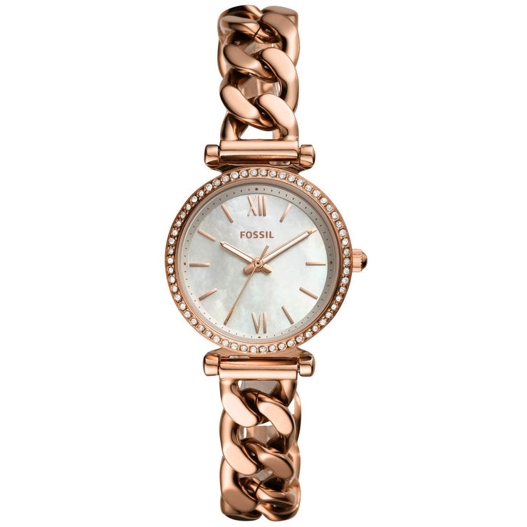Fossil ES4688 Carlie Mini Rose Gold