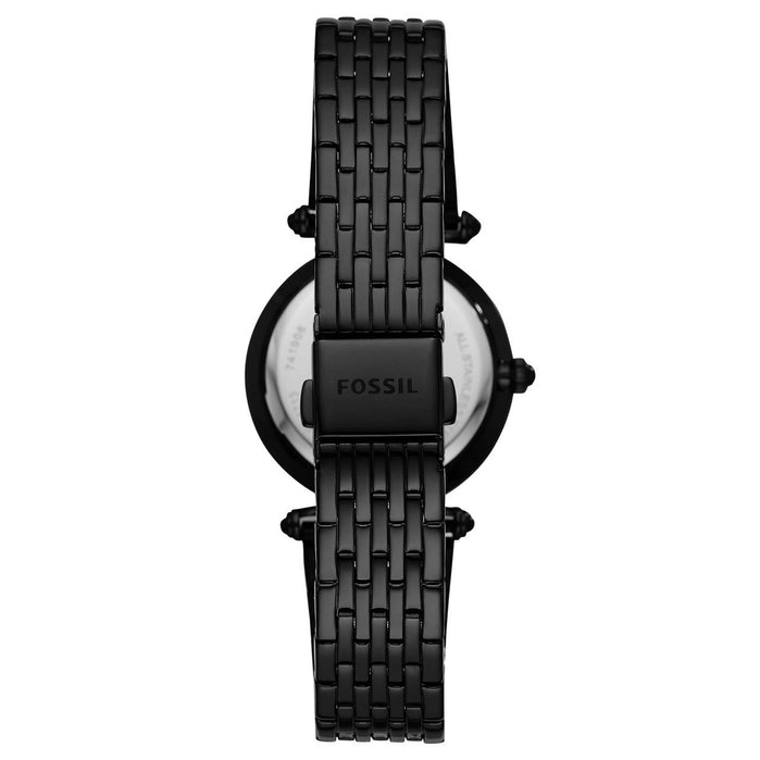 Fossil ES4713 Lyric Black SS angled shot picture