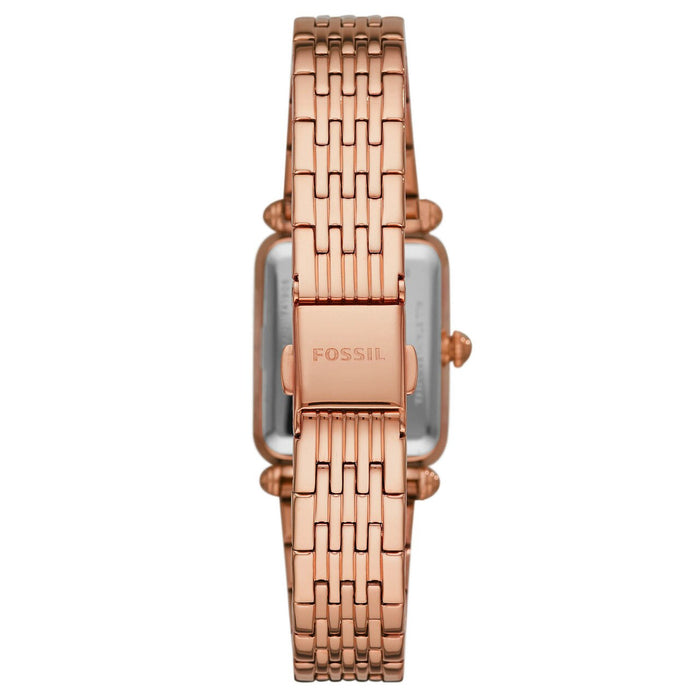 Fossil ES4720 Lyric Rose Gold SS angled shot picture