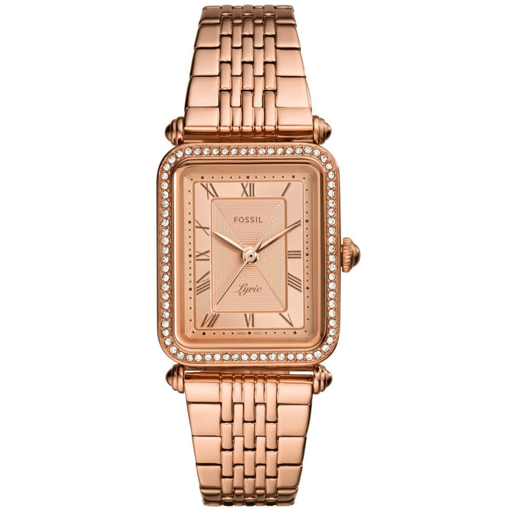Fossil ES4720 Lyric Rose Gold SS