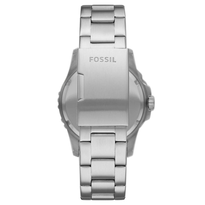 Fossil FS5652 FB-01 Black Silver SS angled shot picture