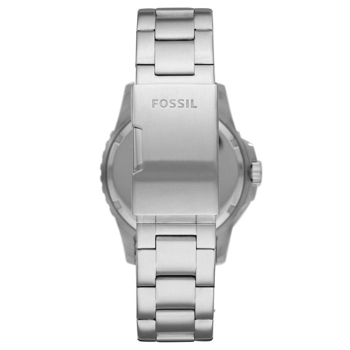 Fossil FS5657 FB-01 Black Multi Silver SS angled shot picture