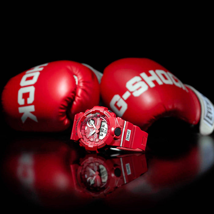 G-Shock GBA800EL Everlast Limited Edition Red angled shot picture