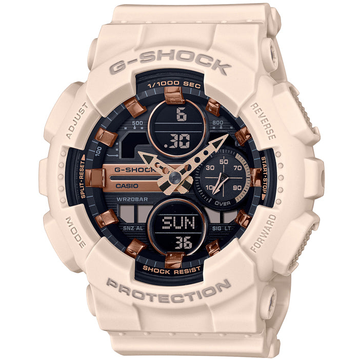 G-Shock GMAS140M Metallic Blush