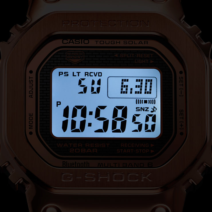 G-Shock GMW-B5000 Full Metal Rose Gold