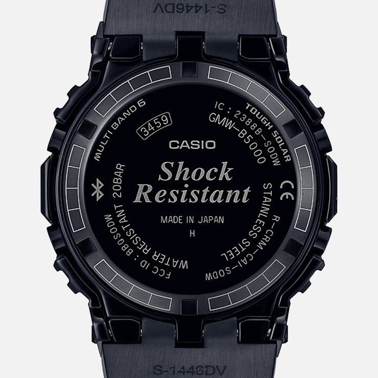 G-Shock GMWB5000CS-1 Grid Tunnel Connected Black
