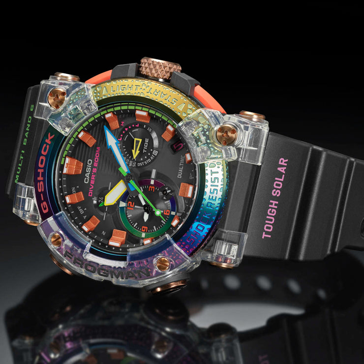 G-Shock Master-G Frogman Connected GWFA1000BRT-1 Borneo Rainbow Toad
