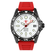 Hawaiian Lifeguard Association Black White Red