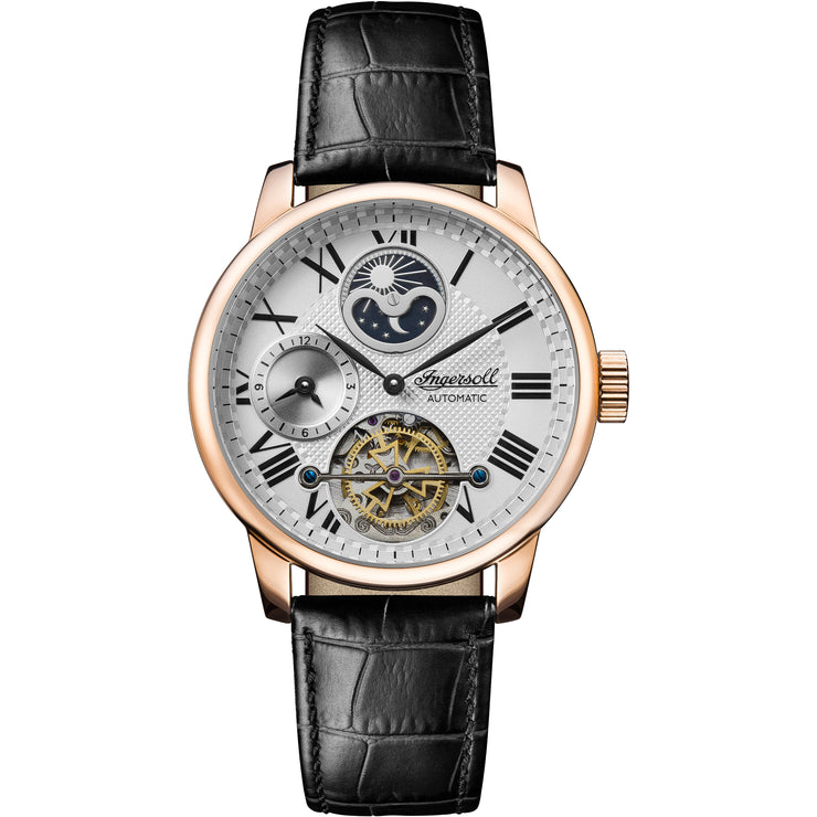 Ingersoll Riff Automatic Rose Gold Navy