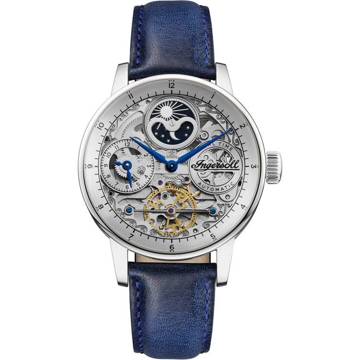 Ingersoll Jazz Automatic Silver Blue