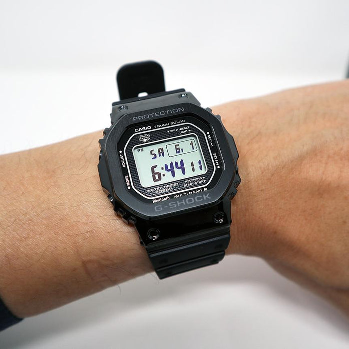 G-Shock GMWB5000G Black Metal Limited Edition angled shot picture