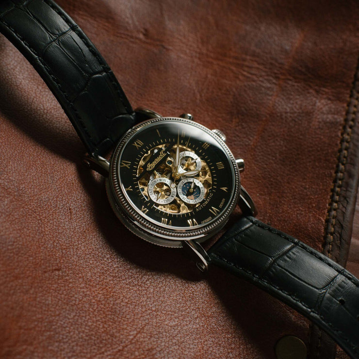 Ingersoll IN7911BK Alaska Skeleton Automatic