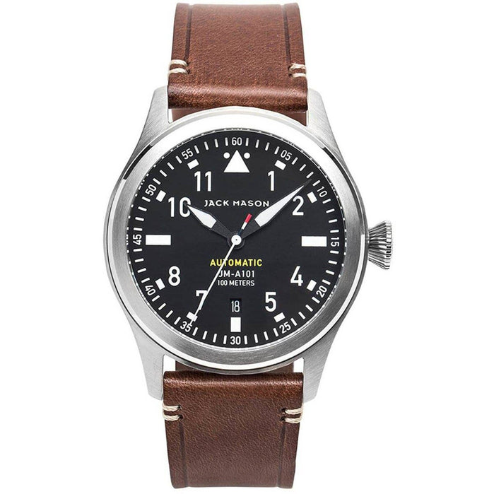 Jack Mason Aviation Pursuit Automatic Black Brown angled shot picture