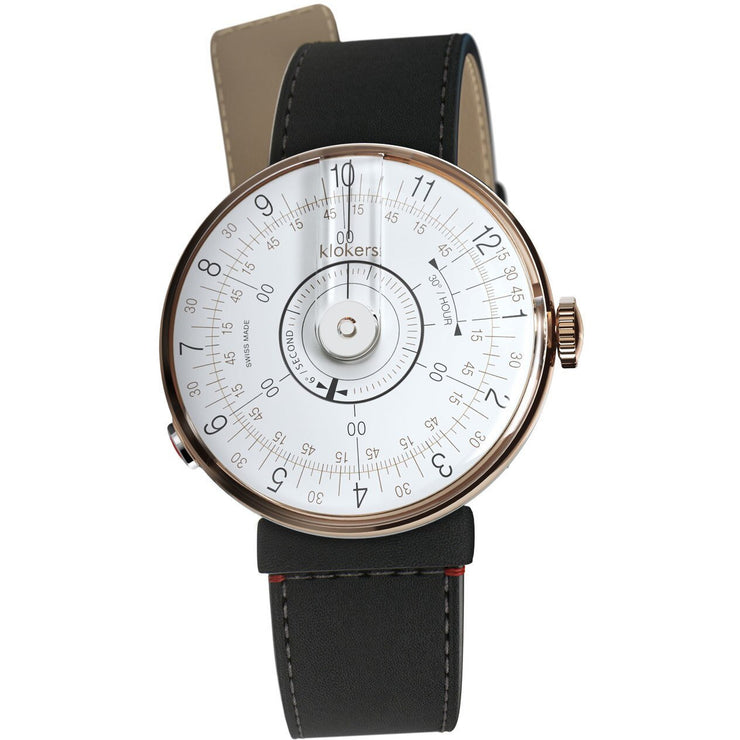 Klokers KLOK-08-D1 Rose Gold Matte Black