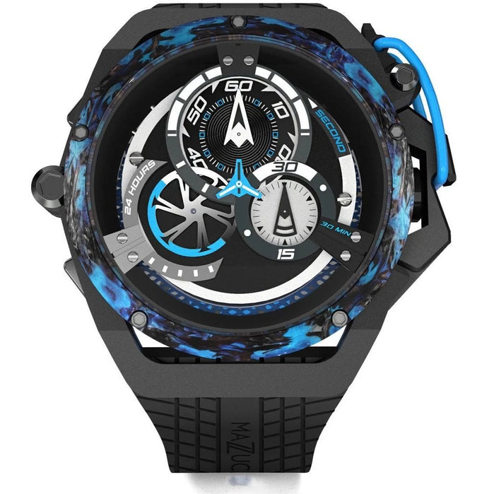 Mazzucato RIM Monza Racing Automatic Black Blue angled shot picture