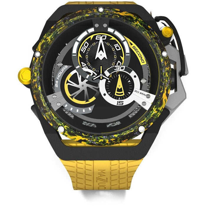 Mazzucato RIM Monza Racing Automatic Black Yellow angled shot picture