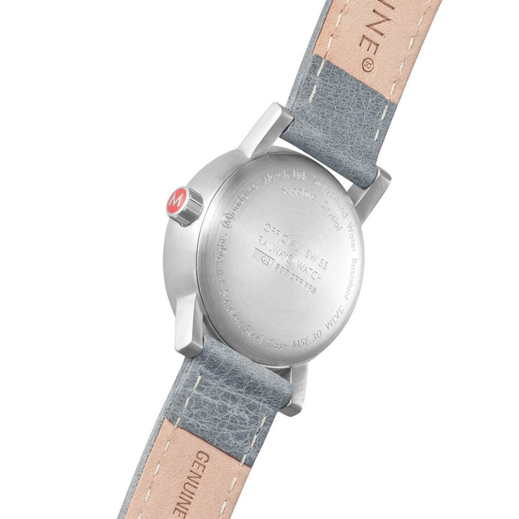 Mondaine evo2 30mm Silver Grey