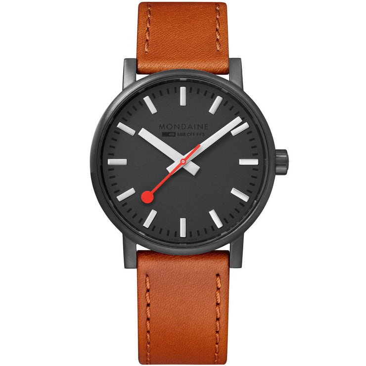 Mondaine evo2 40mm Brown Black