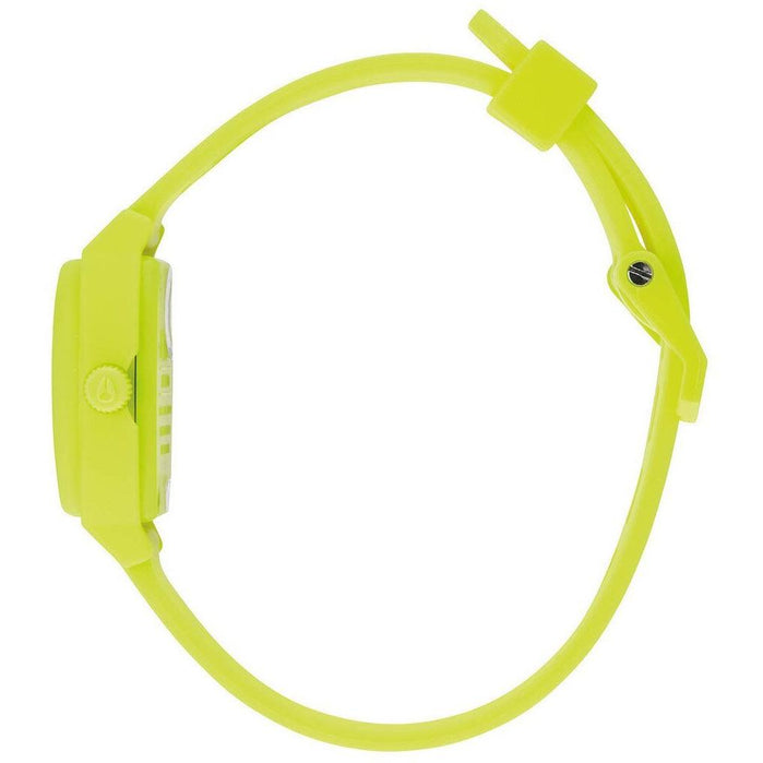 Nixon Small Time Teller P Neon Yellow Beetlepoint angled shot picture