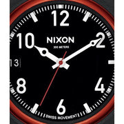 Nixon October All Black/Red
