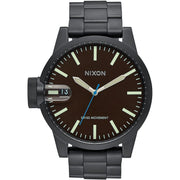 Nixon Chronicle SS All Black Brown