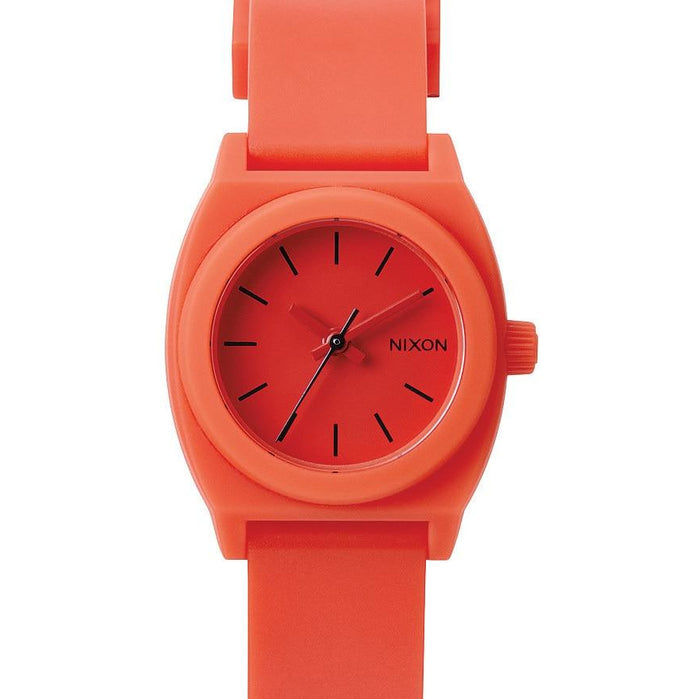 Nixon Small Time Teller P Red Pepper angled shot picture